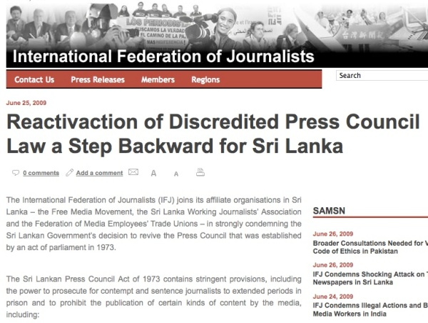 http://www.ifj.org/en/articles/reactivaction-of-discredited-press-council-law-a-step-backward-for-sri-lanka
