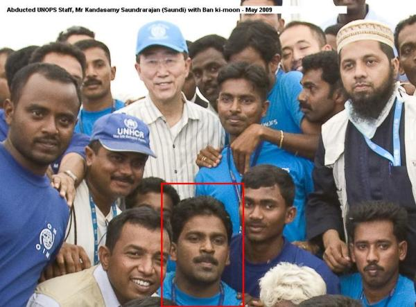 UN finally speaks out about its 2 workers that have been abducted by the GoSL